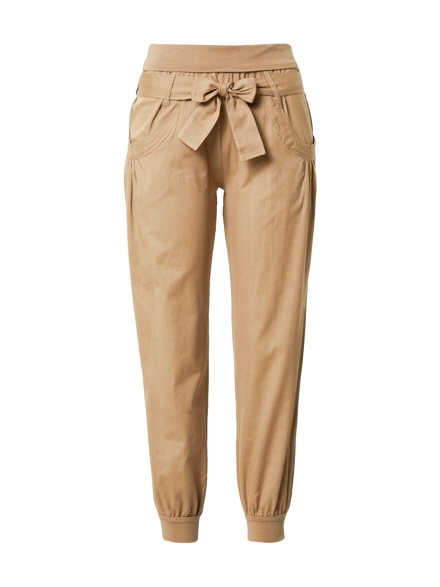 BUFFALO Harémové kalhoty  tmavě béžová