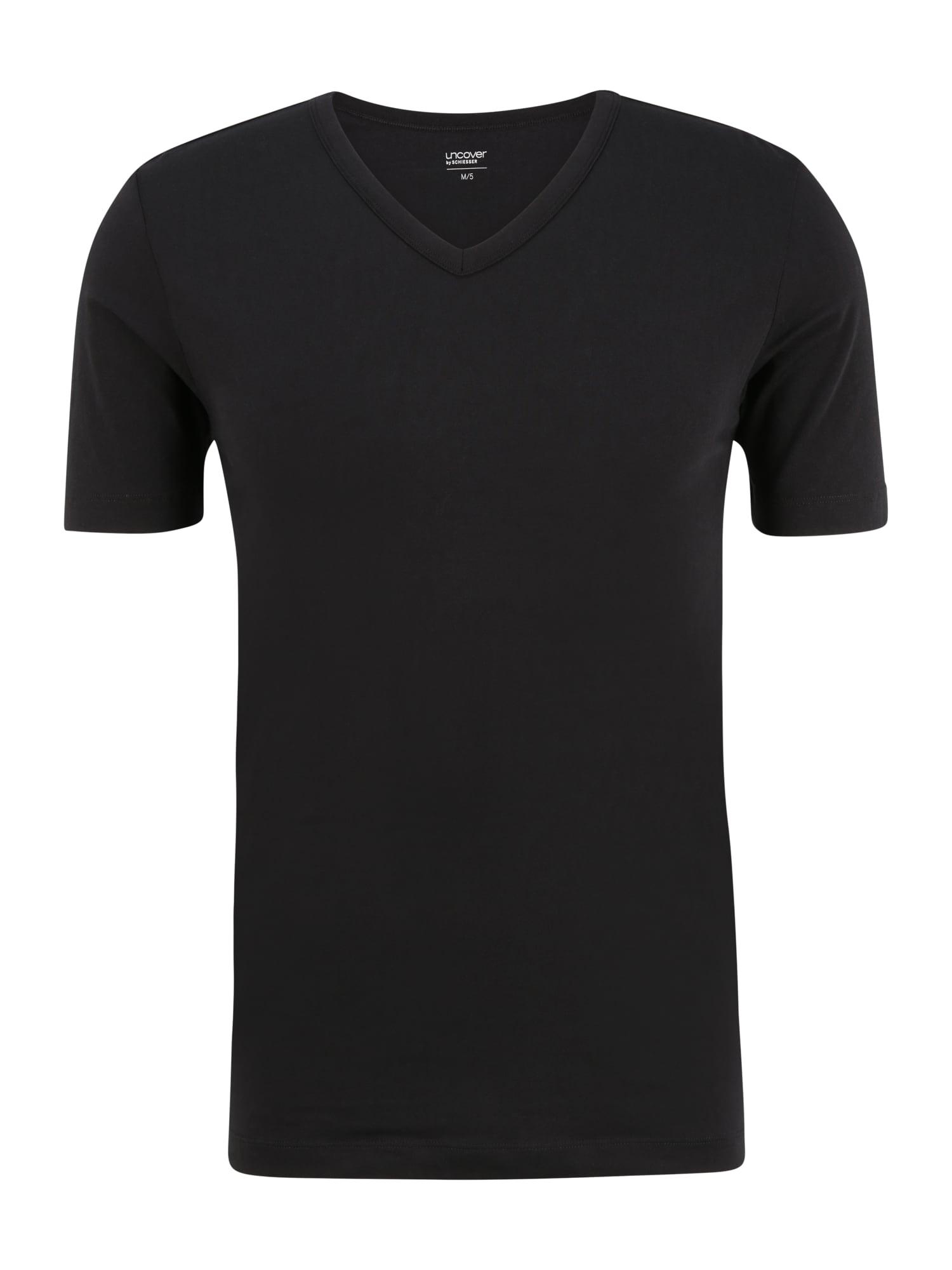 uncover by SCHIESSER Marškinėliai juoda