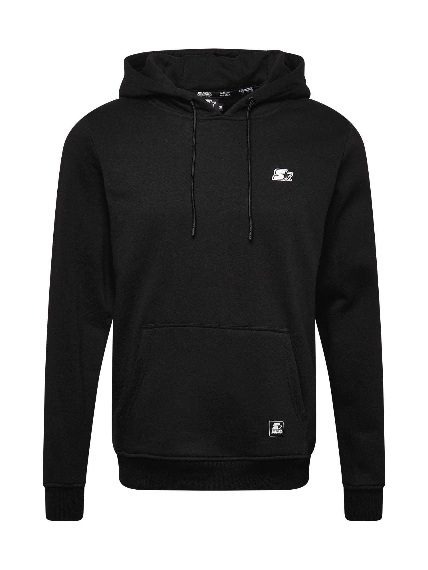 Starter Black Label Megztinis be užsegimo juoda