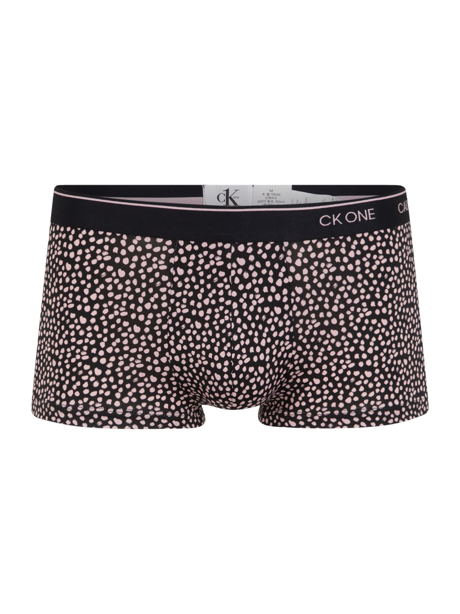 Calvin Klein Underwear Boxer trumpikės rožių spalva / juoda