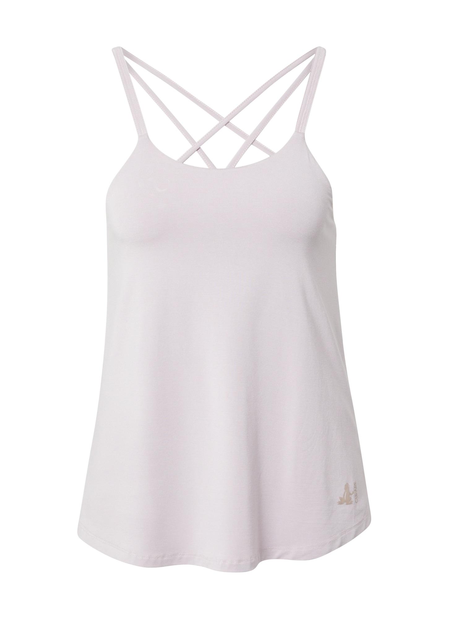 CURARE Yogawear Sportiniai marškinėliai be rankovių pastelinė rožinė
