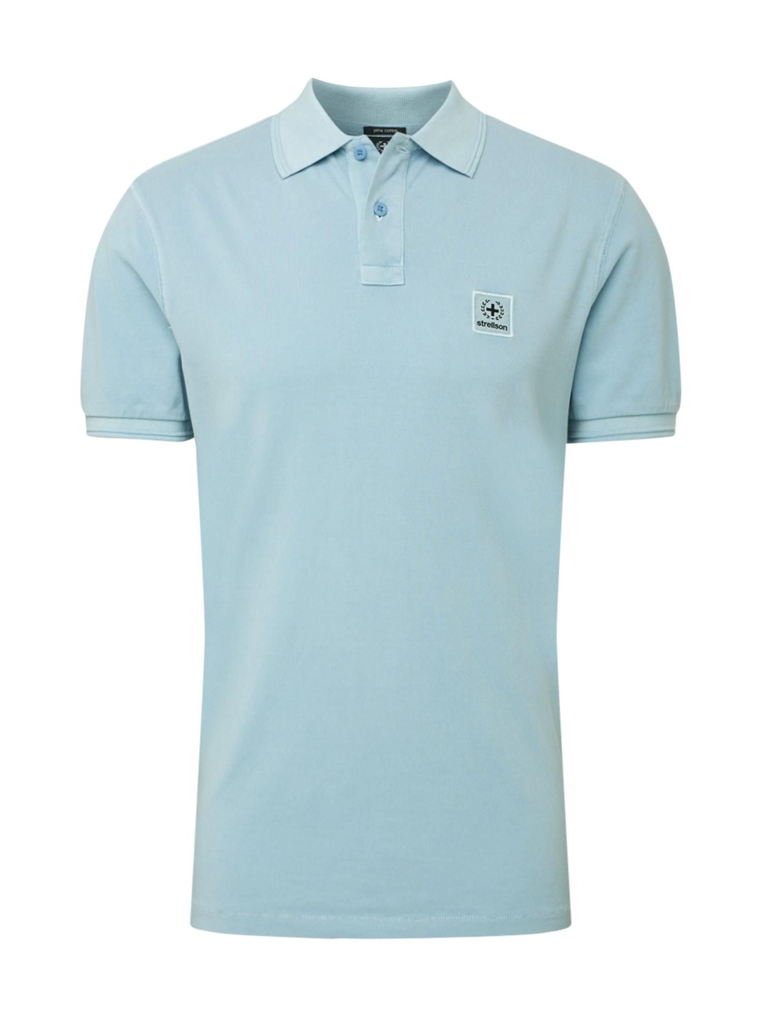 STRELLSON Marškinėliai šviesiai mėlyna