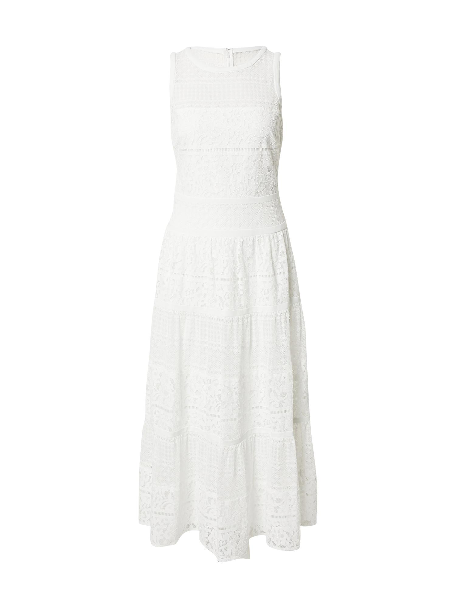 Lauren Ralph Lauren Šaty 'ALBERTINE'  bílá