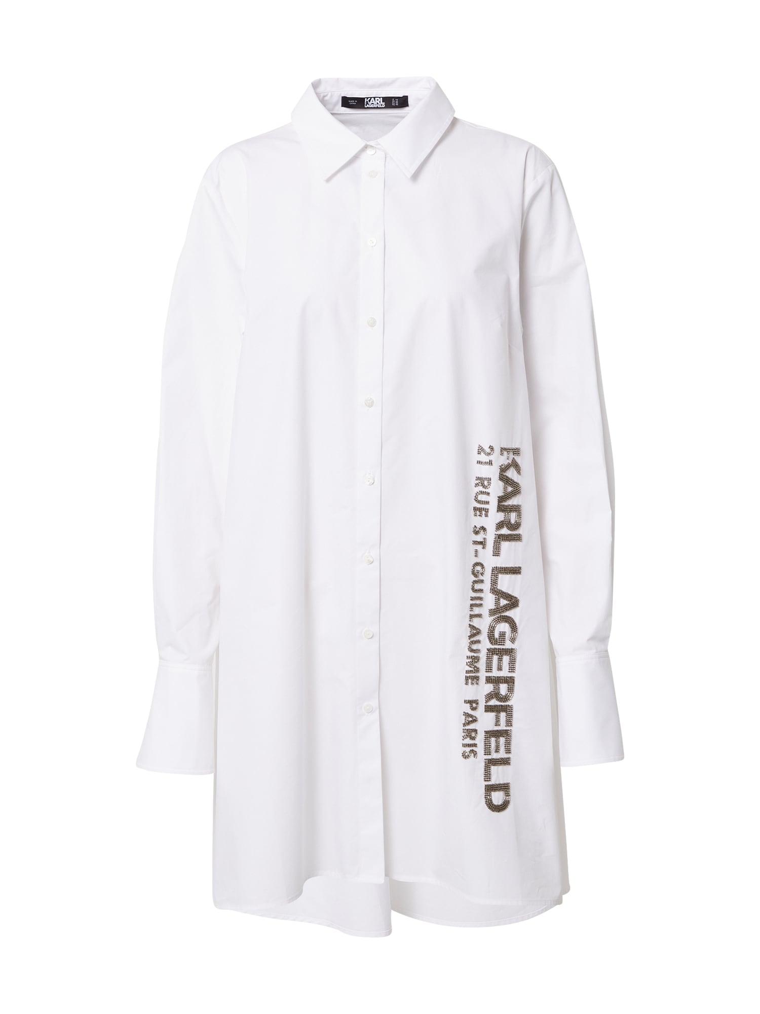 Karl Lagerfeld Palaidinė balta / ruda