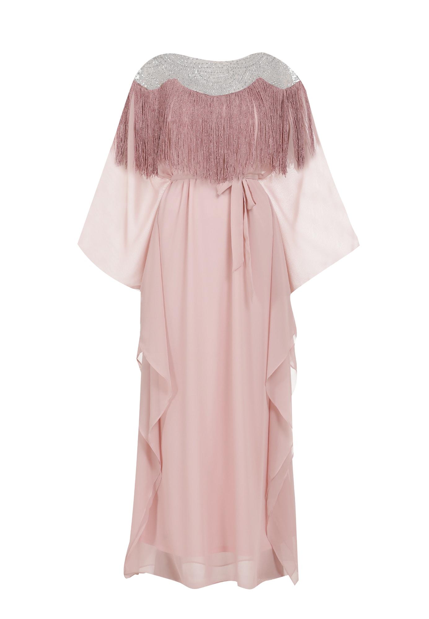 faina Vakarinė suknelė rožių spalva / rožinė