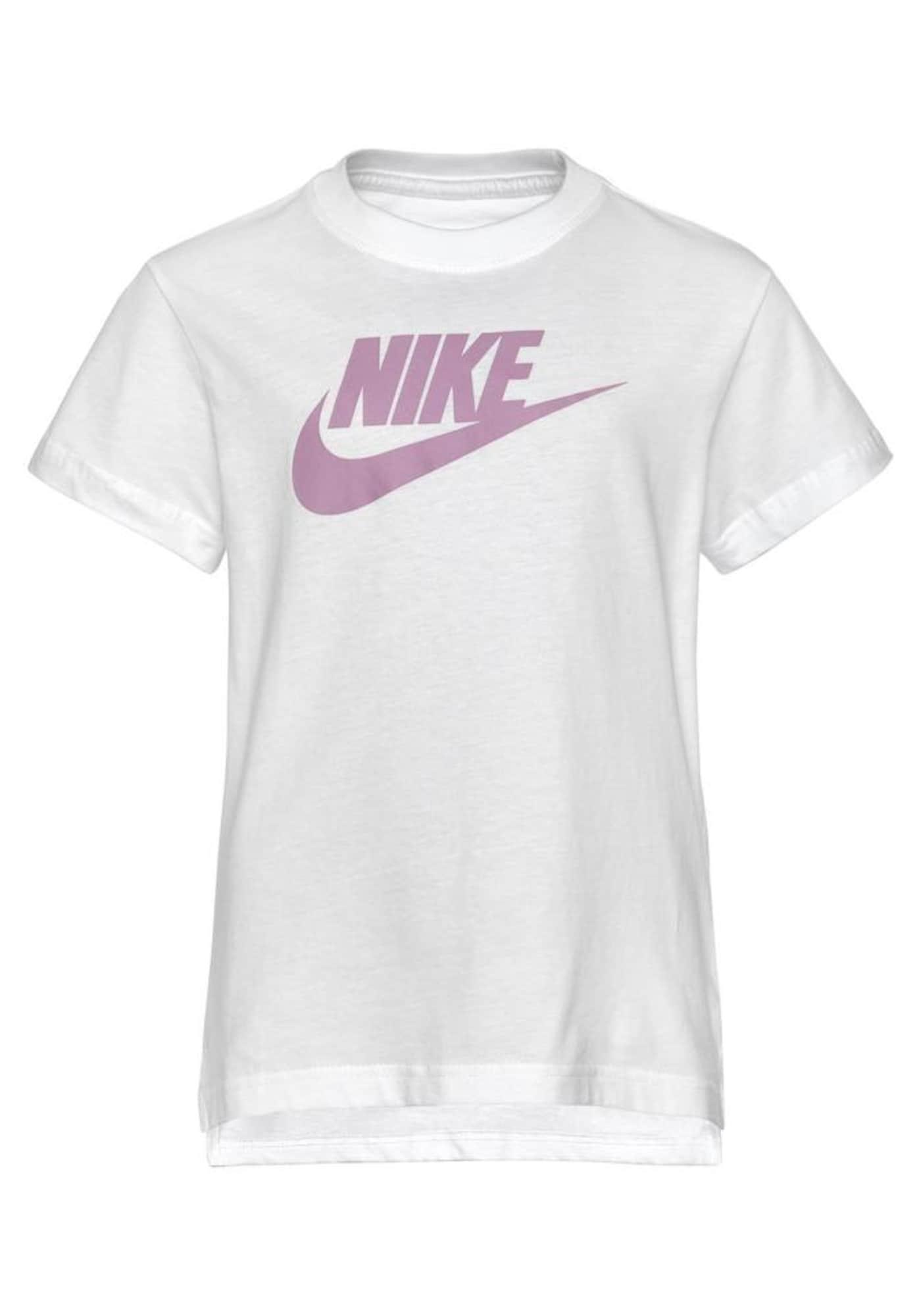 Nike Sportswear Marškinėliai balta / rožių spalva