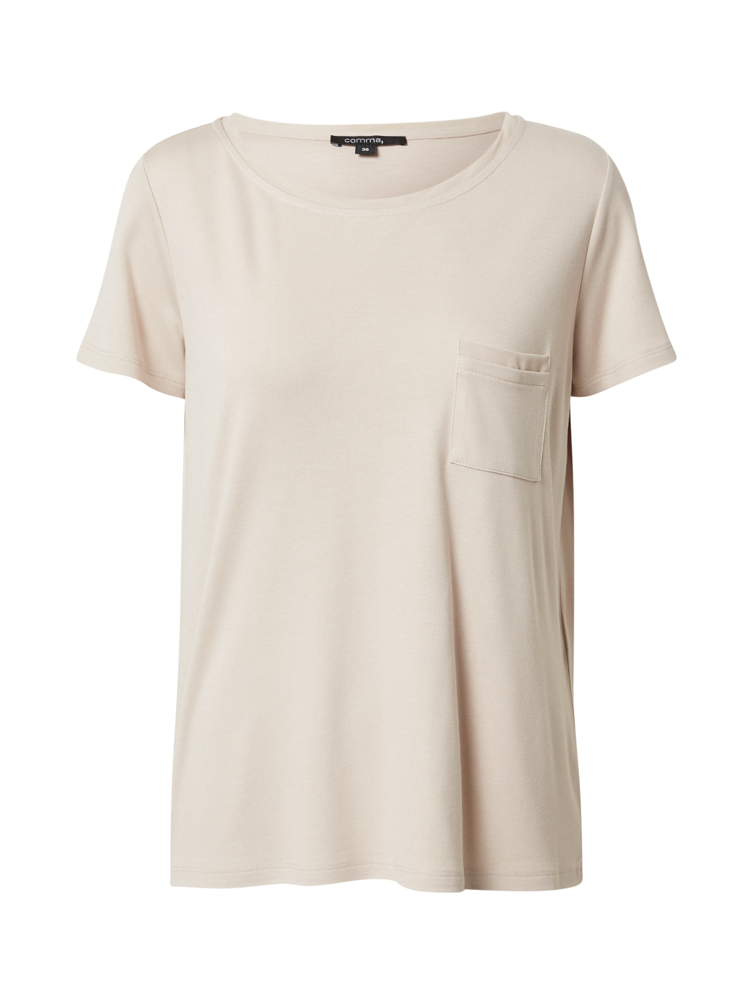 COMMA Marškinėliai kūno spalva