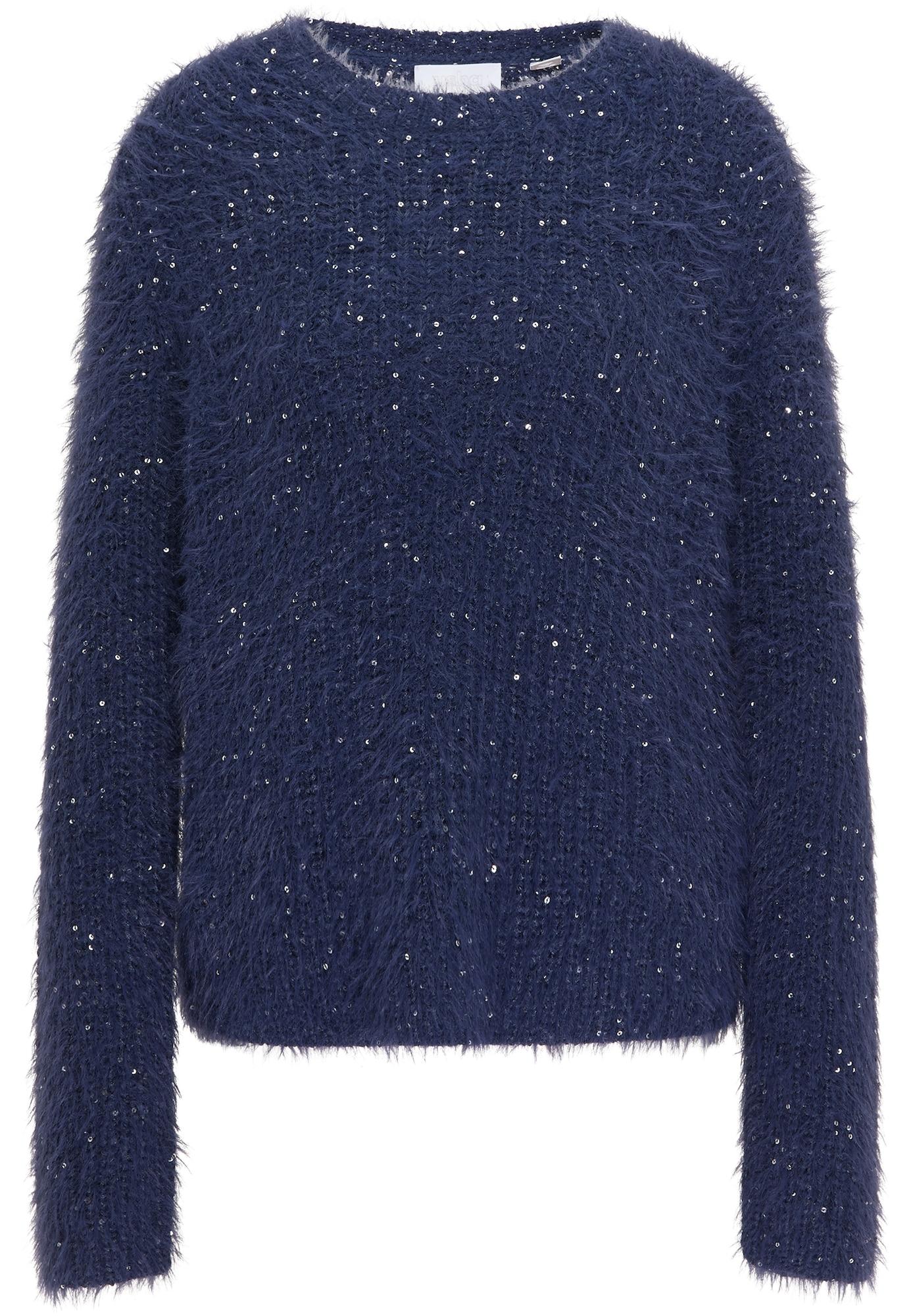 usha WHITE LABEL Megztinis indigo spalva