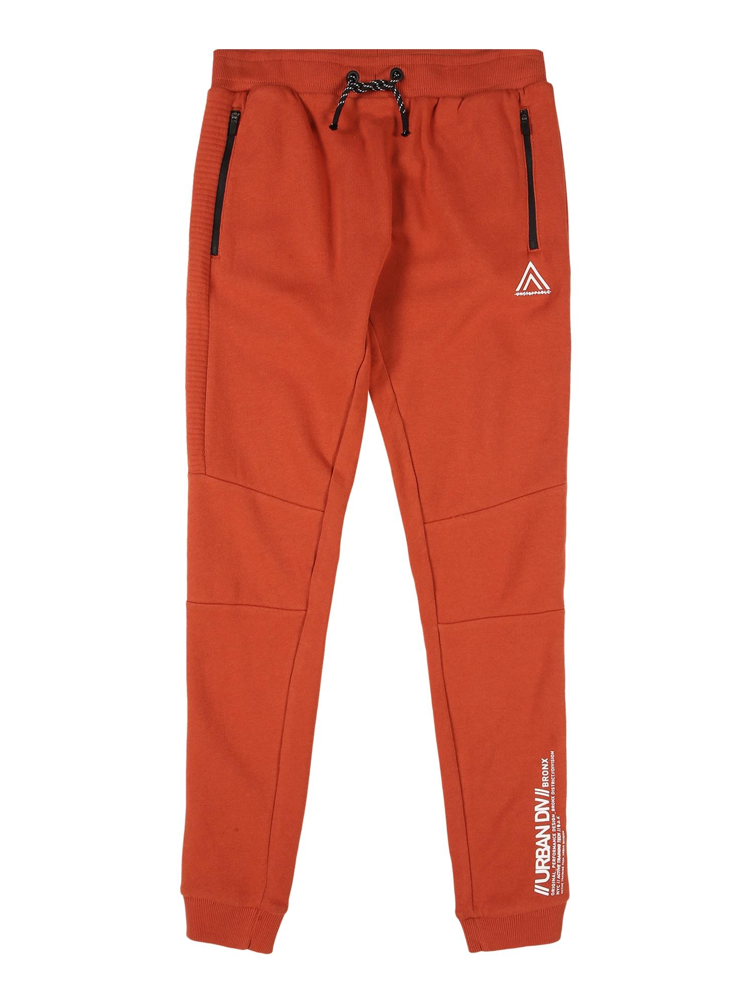 NAME IT Kalhoty 'NAMIR'  oranžově červená